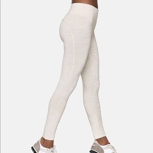 Outdoor Voices Techsweat 7/8 Legging Small Oatmeal